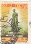 Stamps : America : Colombia :  ESTATUA