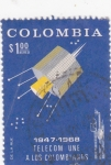 Stamps Colombia -  TELECOM UNE A LOS COLOMBIANOS