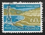 Sellos de Asia - Indonesia -  Five Year Development Plan