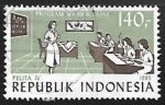 Stamps Indonesia -  Five Year Development Plan