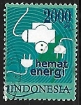 Stamps Indonesia -  Energy (Energy conservation)