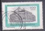 Sellos de America - Argentina -  teatro Colón- Buenos Aires