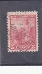 Stamps Argentina -  CAMPESINO