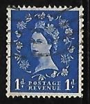Stamps United Kingdom -  Reina Elizabeth II