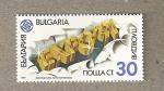 Stamps Bulgaria -  Expo 91