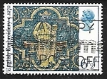 Stamps United Kingdom -  Navidad 1976 - Virgen y niño