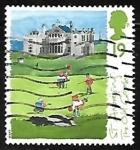 Sellos de Europa - Reino Unido -  The Old Course, St Andrews