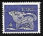 Sellos de Europa - Irlanda -  Animal estilizado