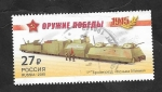 Sellos de Europa - Rusia -  7587 - Tren blindado Kozma Minin