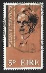 Stamps : Europe : Ireland :  William Butler Yeats