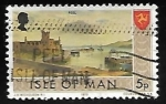 Stamps : Europe : Isle_of_Man :  Castillo