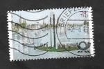 Stamps : Europe : Germany :  3067 - Bicentenario del barco a vapor por la riviera Weser