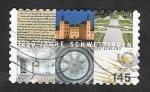 Stamps : Europe : Germany :  3010 A - 1250 Anivº de la ciudad Schwetzingen