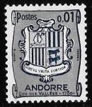 Sellos del Mundo : Europa : Andorra : Andorra-cambio