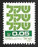 Stamps : Asia : Israel :  Standby Sheqel