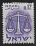 Stamps Asia - Israel -  Zodiac: Libra