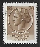 Stamps Italy -  Coin of Syracuse
