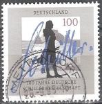 Stamps Europe - Germany -  Centenario de la Sociedad Alemana de Schiller.