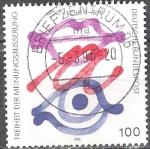Stamps Europe - Germany -  Libertad de expresión.