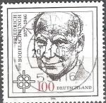Stamps Europe - Germany -  50º aniversario de la muerte de Friedrich von Bodelschwingh (teólogo).