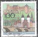 Stamps Europe - Germany -  800 años Heidelberg.