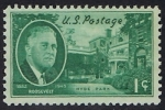 Stamps America - United States -   482 - Presidente Roosevelt, Parque Hyde