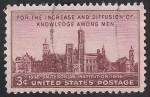 Stamps America - United States -  495 - Centº de la Institución Smithsonian