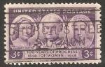 Sellos de America - Estados Unidos -  510 - Centº del movimiento de los derechos femeninos americanos