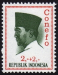 Stamps Indonesia -  COL-Achmed Sukarno