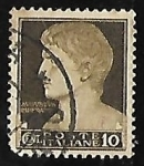 Stamps Italy -  Effigy of Augustus