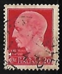 Sellos de Europa - Italia -  Effigy of Julius Caesar