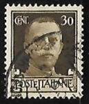 Sellos de Europa - Italia -  King Vittorio Emanuele III