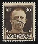 Stamps Italy -  King Vittorio Emanuele III