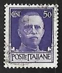 de Europa - Italia -  Effigy of King Victor Emmanuel III