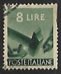 Sellos de Europa - Italia -  Maartillo cortando una cadena