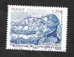 de Europa - Francia -  5044 - Bicentenario de la navegación a vapor, Jouffroy d'Abbans, arquitecto naval
