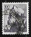 Stamps Italy -  Works of Michelangelo
