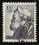 Stamps : Europe : Italy :  Works of Michelangelo