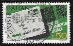 Sellos de Europa - Italia -  Introduccion del codigo postal