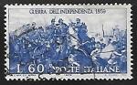 Stamps Italy -  Centenario de la segunda guerra de la independencia
