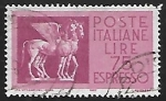 Stamps Italy -  Etruscan Winged Horses