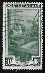 Stamps Italy -  Calabria - El telar