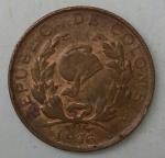 monedas de America - Colombia -  1976 error 1 centavo