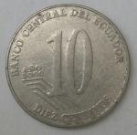 monedas de America - Ecuador -  2000 reverso