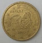 monedas de Europa - España -  2002 - 10 cent euro