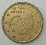 monedas de Europa - España -  2005 - 10 cent euro
