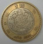 monedas de America - México -  2001 reverso