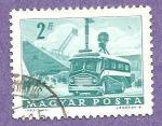 Stamps : Europe : Hungary :  INTERCAMBIO