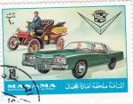 Stamps : Asia : Bahrain :  COCHES DE EPOCA