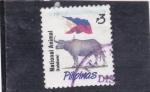 Sellos de Asia - Filipinas -  KALABAW- NATIONAL ANIMAL